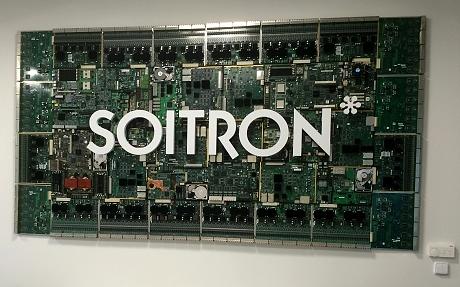 SOITRON 3D logo - recepce